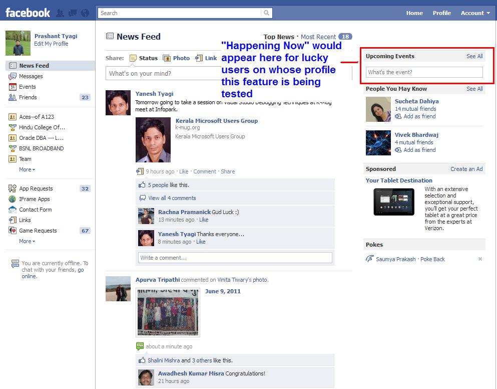 facebook realtime