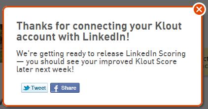 LinkedIn score wait