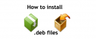 install deb files on iphone