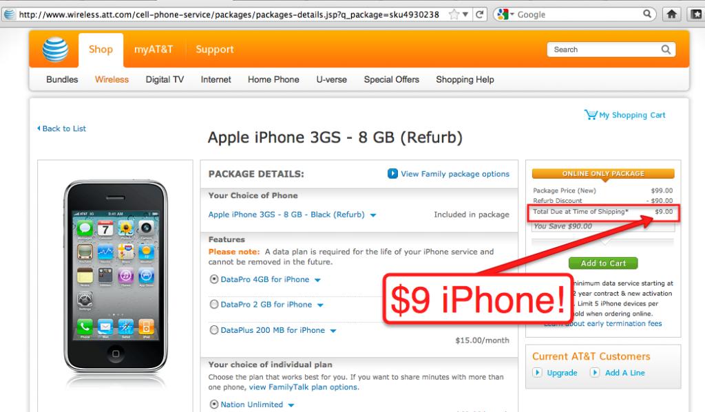 $9 iPhone