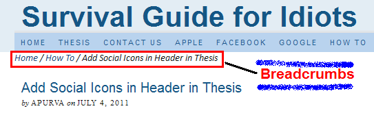 why use thesis theme
