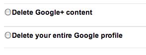 disable google plus account