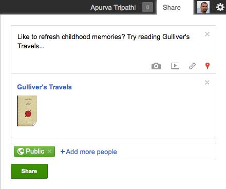 google ebooks sharing
