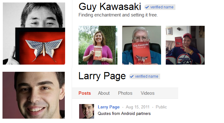 profile images of guy and larry
