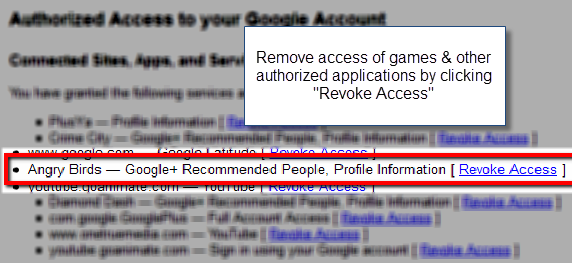 revoke_access_of_applications_in_google+