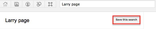 Save google plus Search