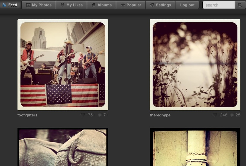manage instagram photos