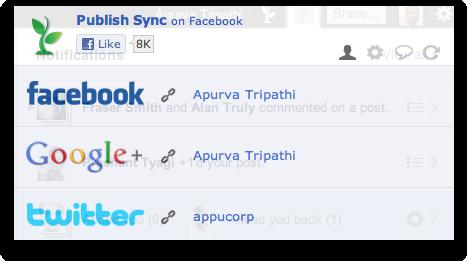 publish sync settings