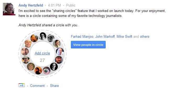 share circles