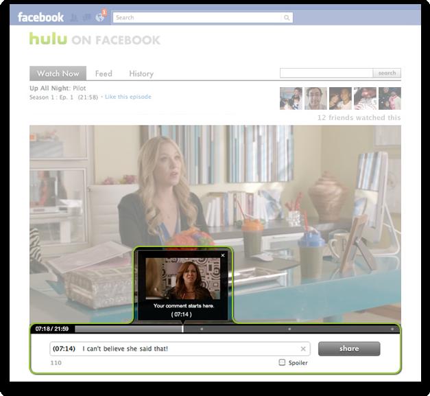 watch hulu on facebook