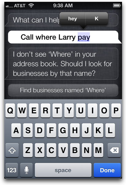how to edit siri command