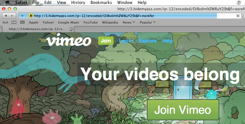 how to access vimeo and dailymotion from india