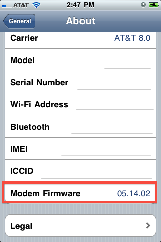 find-iphone-baseband