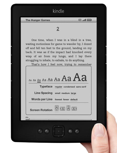 kindle hands on