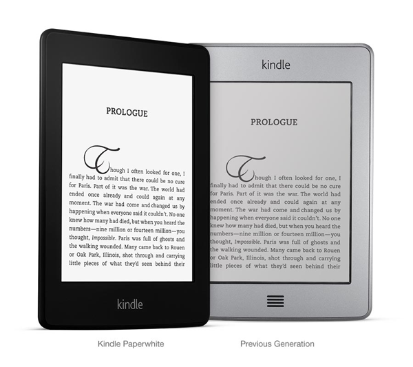 compare old and new kindle