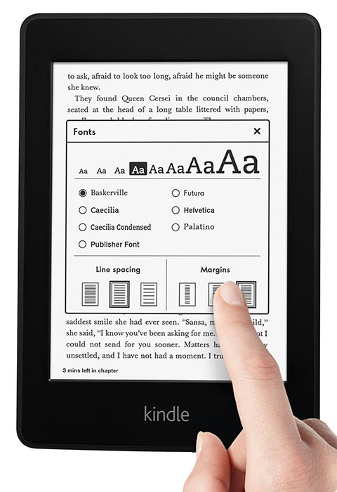 kindle paperwhite features