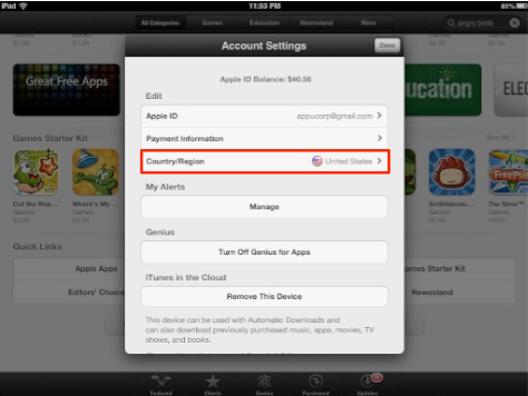 iOS 6 Bug: Your account is not valid for use in the xxx Store. You must switch to yyy Store before purchasing.