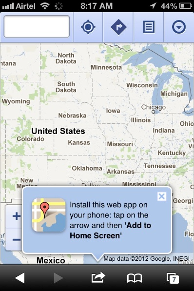 how to install google maps on ios6