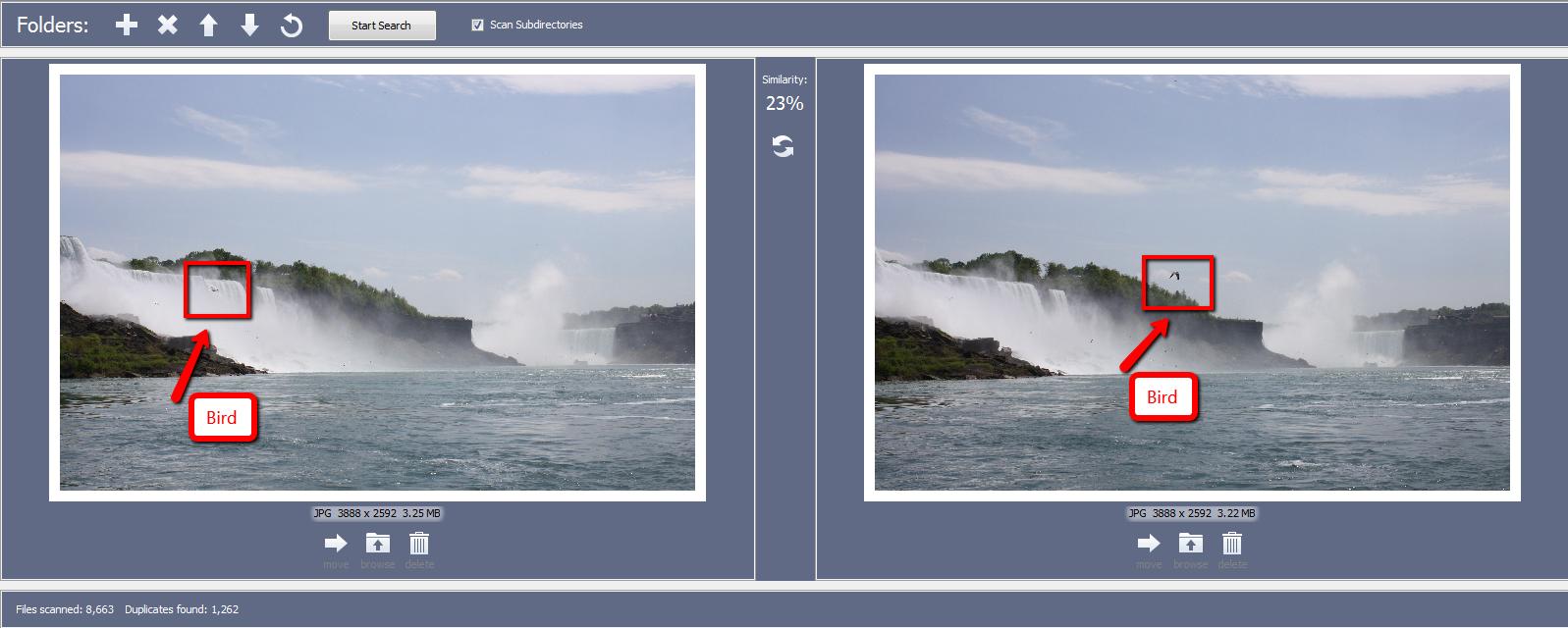 find duplicate image in Windows
