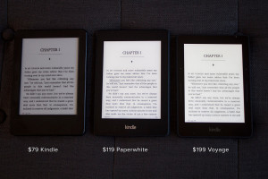 compare kindle models