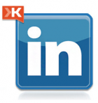 linked in with Klout