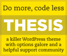 Post image for Thesis Theme Review – Best WordPress Theme ?
