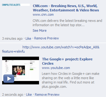 Facebook Comment Preview