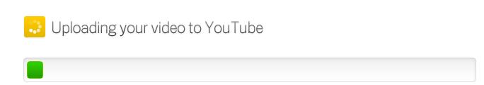 upload video on youtube