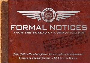 Post image for Unique way to send formal notice for Love Letter or Thank You