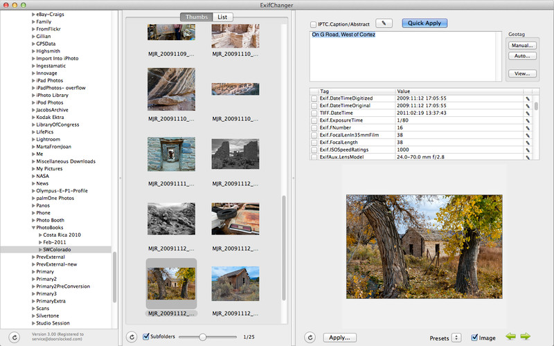 how to edit exif data