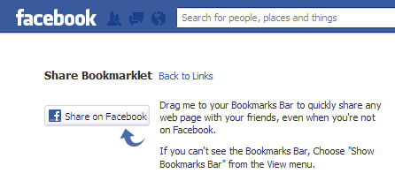 share webpages and videos on facebook