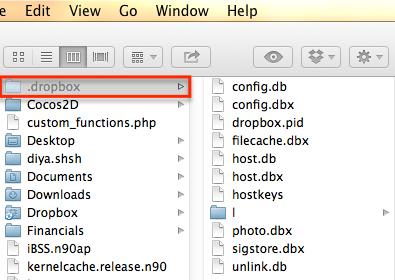 dropbox won't launch on mac error